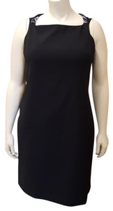Elie Tahari Work To Evening Sleeveless Classic Lined Dress