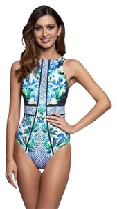 Jet Set Jets by Jessika Allen Sublime High Neck One Piece Swimsuit