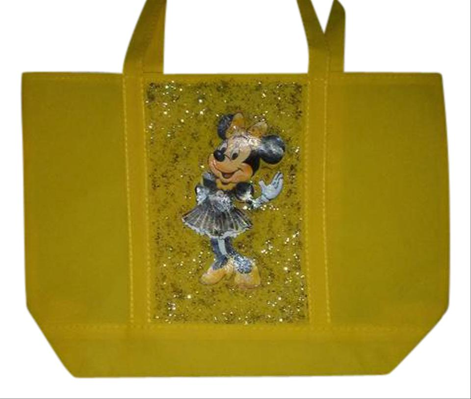 7af81ad6d6c Handmade Pittsburgh Steelers Minnie Mouse Cheerleader Yellow Tote ...