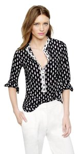 J.Crew Thistle Print Summer Collarless Tunic