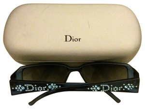 Dior Authentic Rhinestone Blue Dior Sunglasses