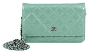 Chanel Wallet Patent Clutch
