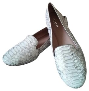 Coach Smoking Loafers Loafers Snakeskin Like New Reptile Flats