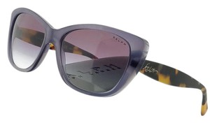 Ralph Lauren RA5190-137434 Cat Eye Plum Frame Purple Lens Sunglasses NWT