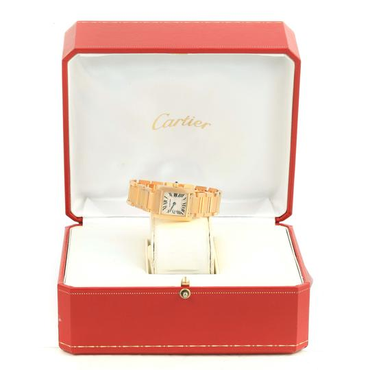 Cartier Cartier Tank Francaise Small 18k Yellow Gold Ladies Watch W50002N2