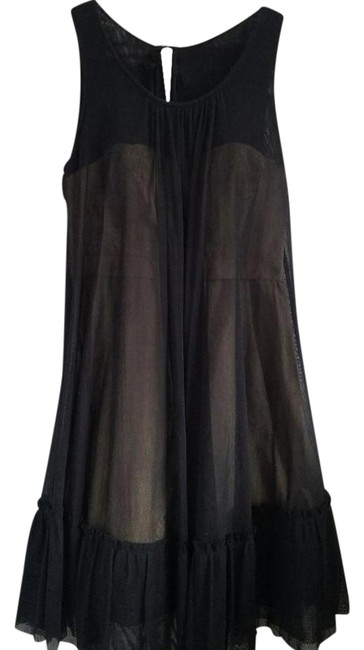 Preload https://item1.tradesy.com/images/bcbgmaxazria-black-ijf65866-mid-length-cocktail-dress-size-4-s-21293455-0-6.jpg?width=400&height=650