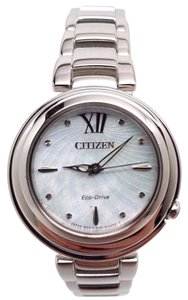 Citizen Women's Eco-Drive EM0330-55D Sunrise Swarovski Crystal Markers Watch