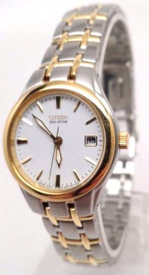Citizen Women's EW1264-50A Gold Stainless-Steel Eco-Drive Watch