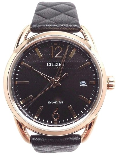 Preload https://item1.tradesy.com/images/citizen-drive-by-eco-drive-fe6083-13e-ladies-ltr-rose-gold-tone-w-date-watch-21293495-0-1.jpg?width=440&height=440