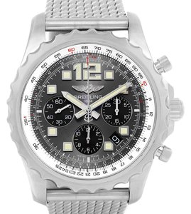 Breitling Breitling Chronospace Chronograph Steel Mens Watch A23360 Box Papers