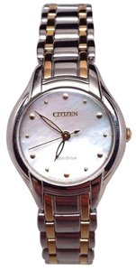 Preload https://item1.tradesy.com/images/citizen-eco-drive-ladies-silhouette-em0284-51n-light-hairline-scratches-watch-21293525-0-1.jpg?width=440&height=440