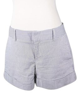 Cynthia Steffe Nautical Striped Dress Shorts BLUE