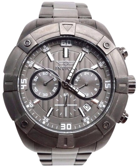 Preload https://item1.tradesy.com/images/invicta-speciality-21618-men-s-gunmetal-stainless-steel-chronograph-watch-21293640-0-1.jpg?width=440&height=440
