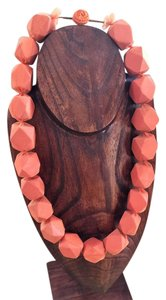 Other Fun and artsy orange necklace that makes a bold statement