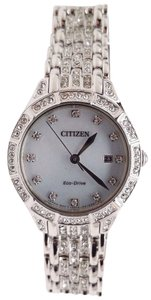 Citizen Silhouette Crystal Ladies Watch EW2320-55A BAND NEEDS REPAIR!!!