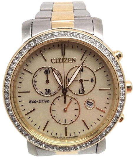 Preload https://item4.tradesy.com/images/citizen-eco-drive-ladies-drive-aml-two-tone-chronograph-fb1412-52p-watch-21293663-0-1.jpg?width=440&height=440