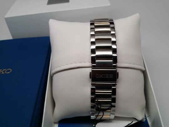 Seiko SK K517 Men's Two-Tone Rectangle Face Watch - $225