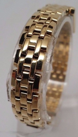 Citizen Eco-Drive Ladies MOP Crystal Gold Watch