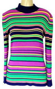 St. John Striped Sweater