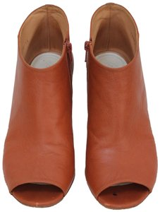 Maison Margiela Sandal Peep Toe Summer Leather Tan Boots