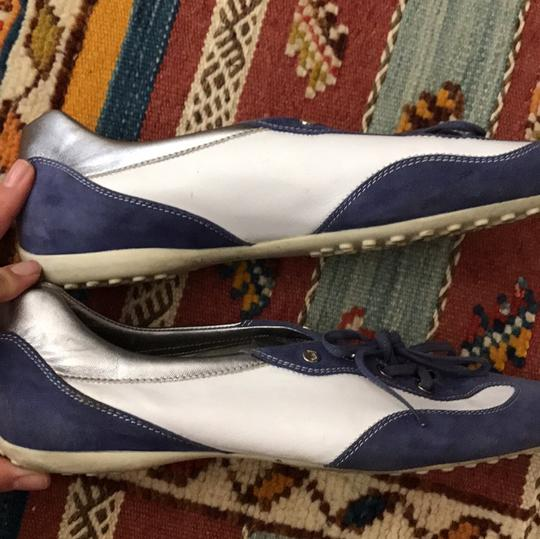 Tod's purple and white Athletic