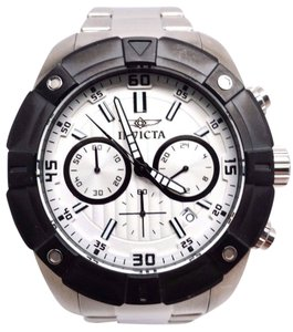 Invicta Specialty Mens Silver-Tone Chronograph Watch 21614