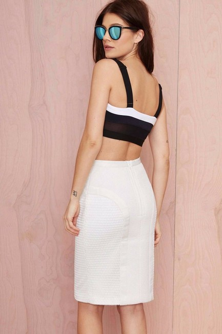 C/meo Collective Skirt Ivory Image 2