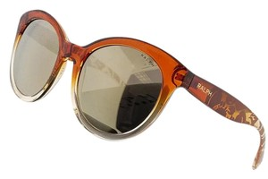 Ralph Lauren RA5211-15156F Women's Amber Frame Purple Gradient Lens Sunglasses