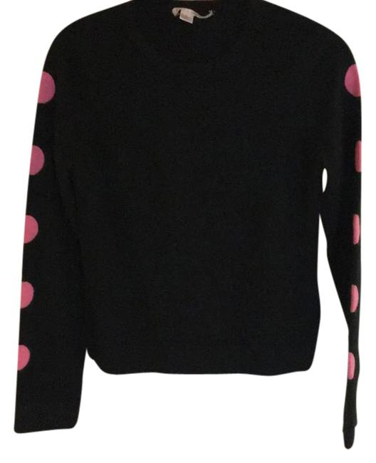 Preload https://img-static.tradesy.com/item/21293841/alice-olivia-black-pink-polka-dotted-sleeve-cashmere-large-blouse-size-12-l-0-1-650-650.jpg