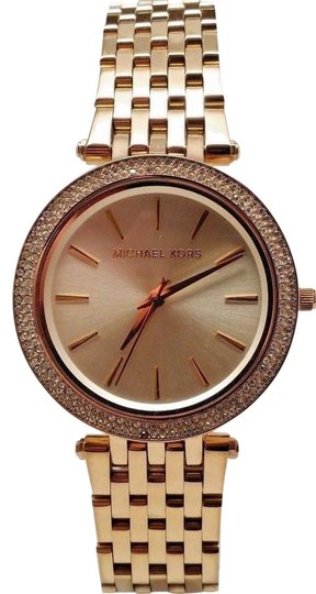 WOMENS M ICHAEL KORS MK3191 DARCI GOLD TONE MESH WATCH