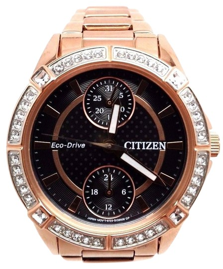 Preload https://item4.tradesy.com/images/citizen-eco-drive-for-women-crystal-rose-gold-tone-fd3003-58e-fits-64-watch-21293873-0-1.jpg?width=440&height=440