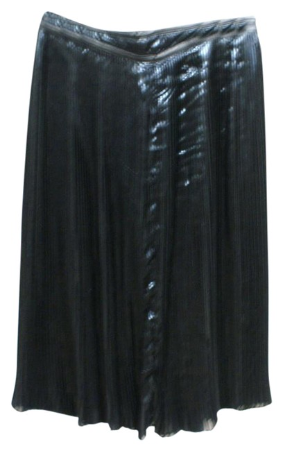 Preload https://img-static.tradesy.com/item/21293929/ralph-lauren-black-label-pleated-shimmery-knee-length-skirt-size-6-s-28-0-2-650-650.jpg