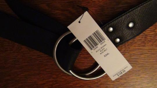 Eileen Fisher Leather O Ring Belt