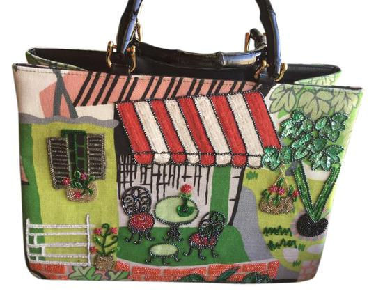 Preload https://item4.tradesy.com/images/bead-embellished-multicolor-tote-21294108-0-1.jpg?width=440&height=440