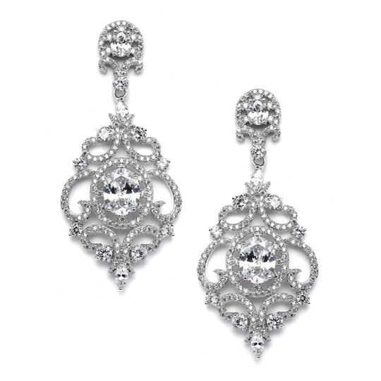Preload https://img-static.tradesy.com/item/21294291/silverrhodium-vintage-style-crystal-statement-earrings-0-0-540-540.jpg