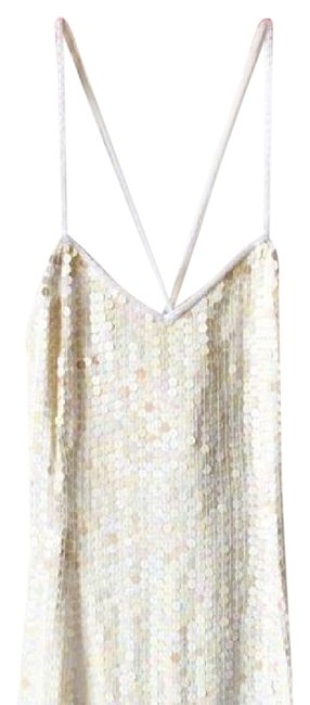Preload https://img-static.tradesy.com/item/21294306/cache-white-sequin-mid-length-cocktail-dress-size-petite-2-xs-0-2-650-650.jpg