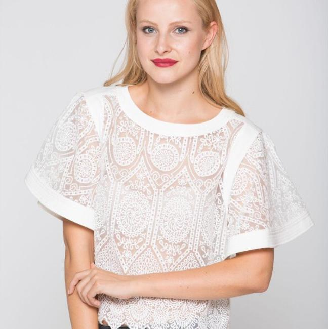 Why Dress Top White