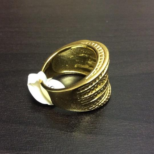 Other Crossover Cubes Style Gold Electroplated Ring