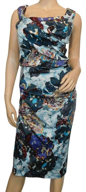 Preload https://img-static.tradesy.com/item/21294367/suzi-chin-for-maggy-boutique-multicolor-cotton-blend-floral-print-ruched-short-workoffice-dress-size-0-2-650-650.jpg