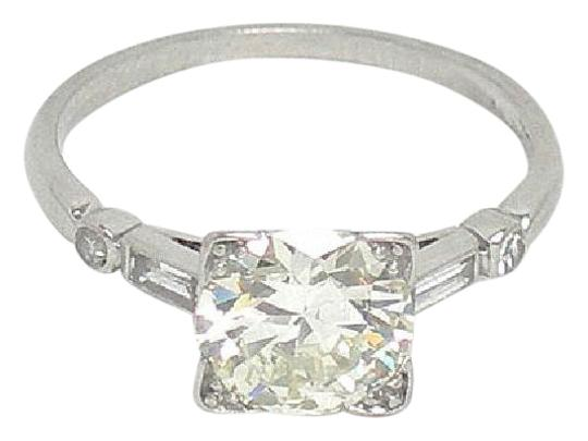 Preload https://item1.tradesy.com/images/platinum-vintage-estate-155ct-diamond-solitaire-waccent-engagement-r-ring-21294425-0-1.jpg?width=440&height=440