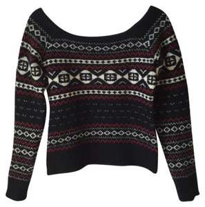 Ralph Lauren Fair Isle Cashmere Off Holiday Sweater