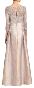 Kay Unger Bisque Kay Unger Ball Gown Dress