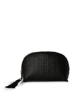 cxl by christian lacroix Black Embossed Dome Cosmetic Case