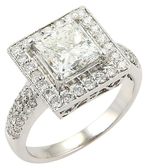 Preload https://item4.tradesy.com/images/white-gold-princess-cut-258-diamond-solitaire-waccent-18k-engagement-ring-21294553-0-1.jpg?width=440&height=440
