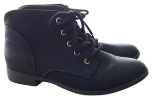 Candie's Military Black Boots