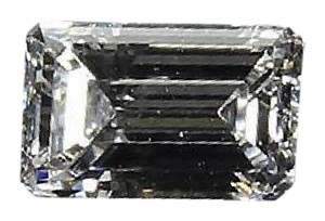Other Emerald Cut 0.98ct F VVS1 Solitaire Loose Diamond With GIA Certificate