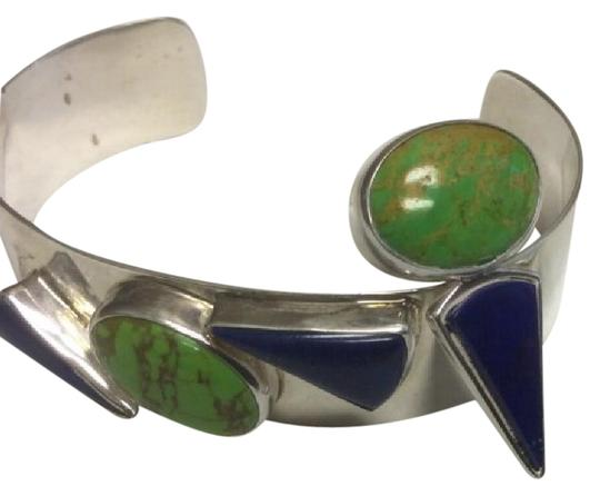 Preload https://item3.tradesy.com/images/sterling-silver-cuff-and-earring-set-21294607-0-1.jpg?width=440&height=440