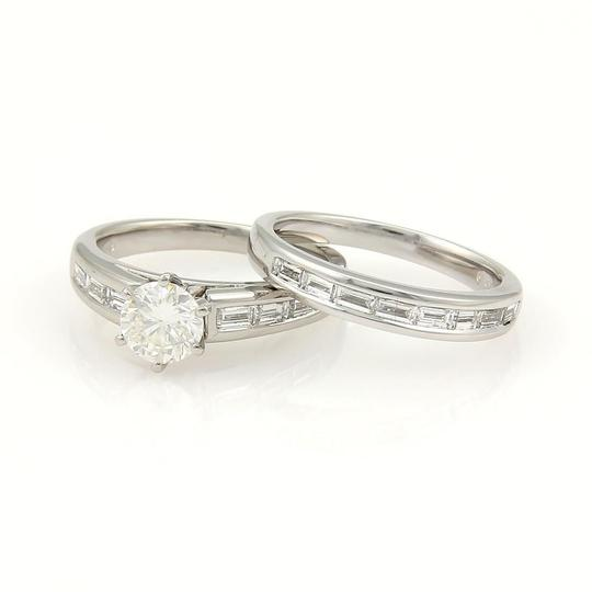 Preload https://img-static.tradesy.com/item/21294627/platinum-new-round-and-baguette-167ctw-diamonds-set-of-2-wedding-ring-0-0-540-540.jpg