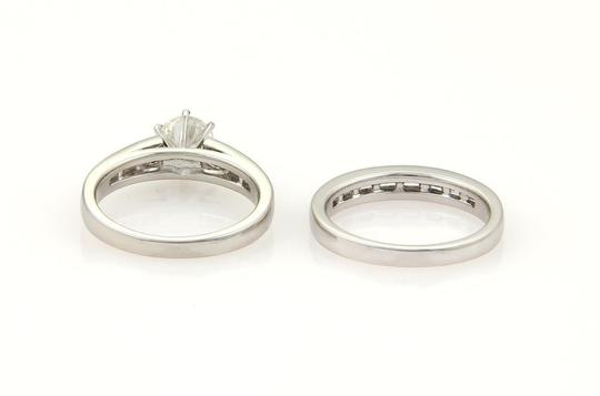 Other New Round & Baguette 1.67ctw Diamonds Platinum Set of 2 Wedding Ring