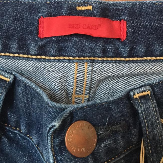 Red Card Boyfriend Cut Jeans-Distressed